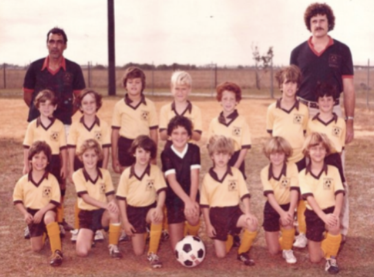 Seay Eyles, 1978  Bottom Row, 2nd from the end (with the white cleats and bowl cut)