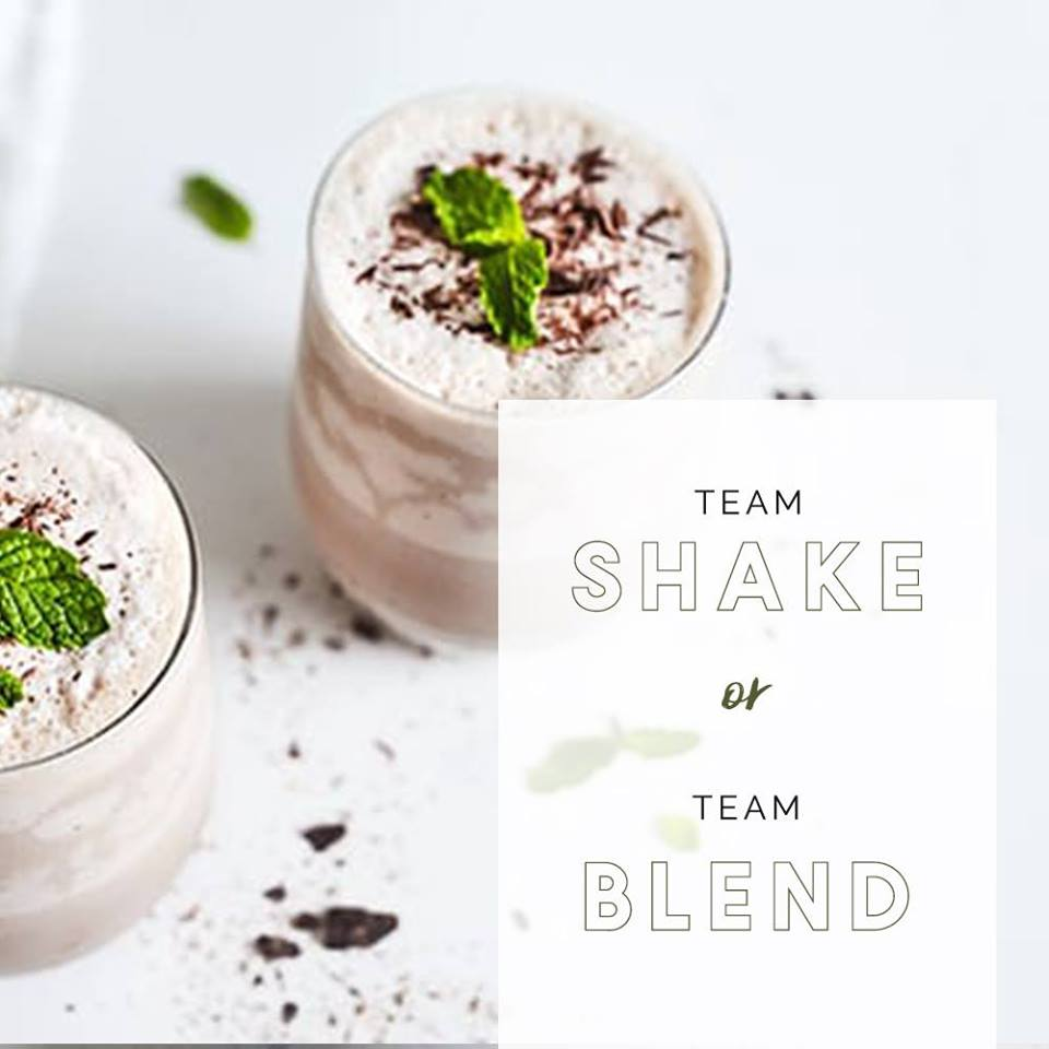 Team Shake or Team Blend