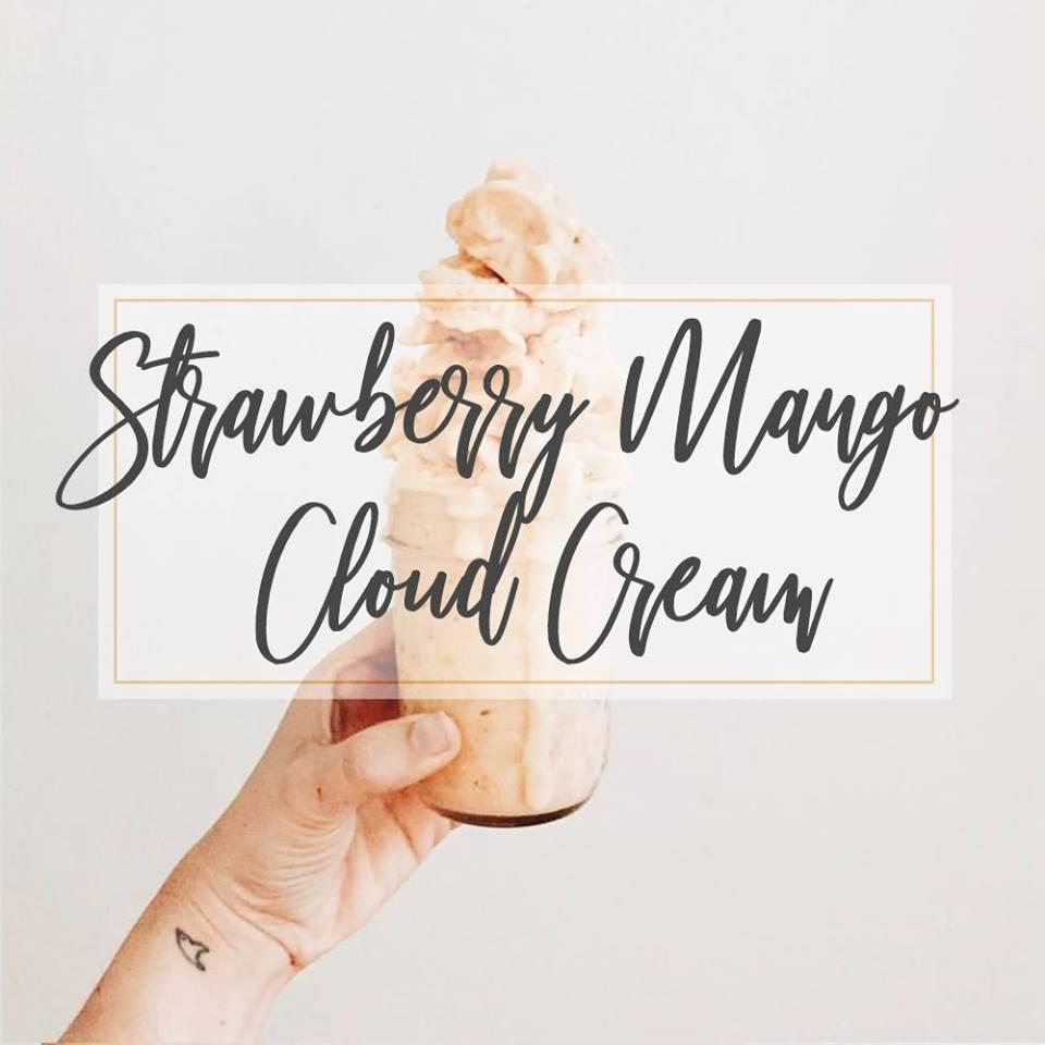 Strawberry Mango Cloud Cream