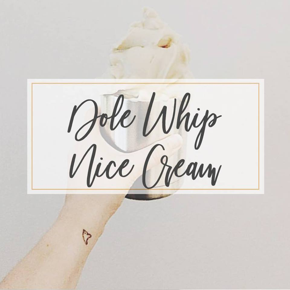 Dole Whip Nice Cream