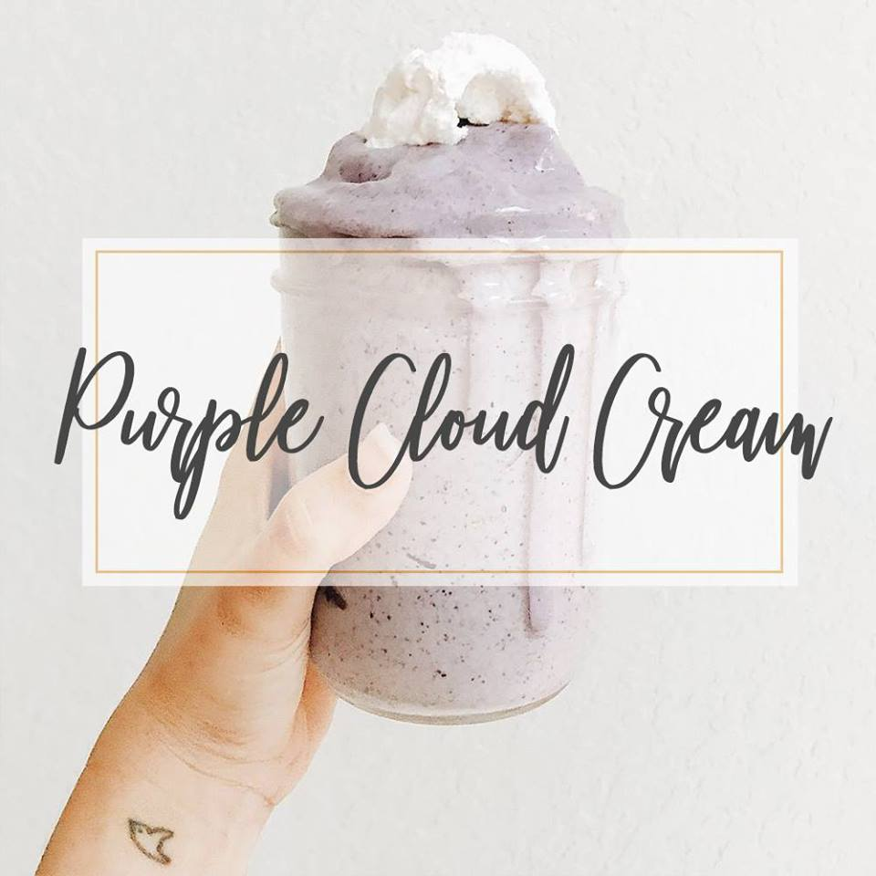 Purple Cloud Cream