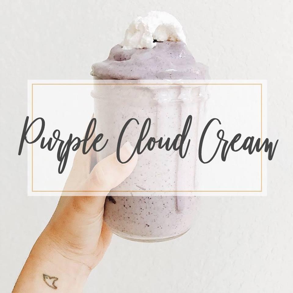 Purple Cloud Cream