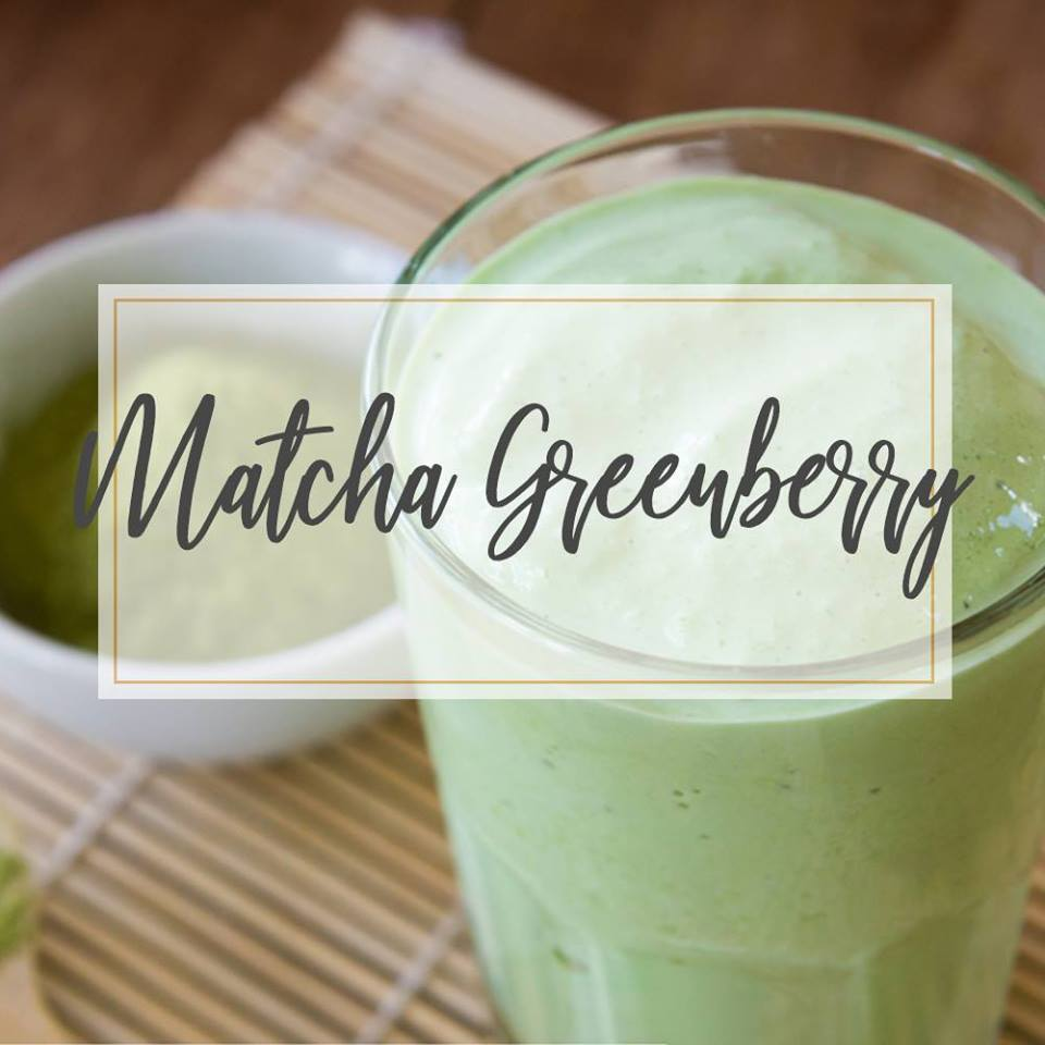 Matcha Greenberry