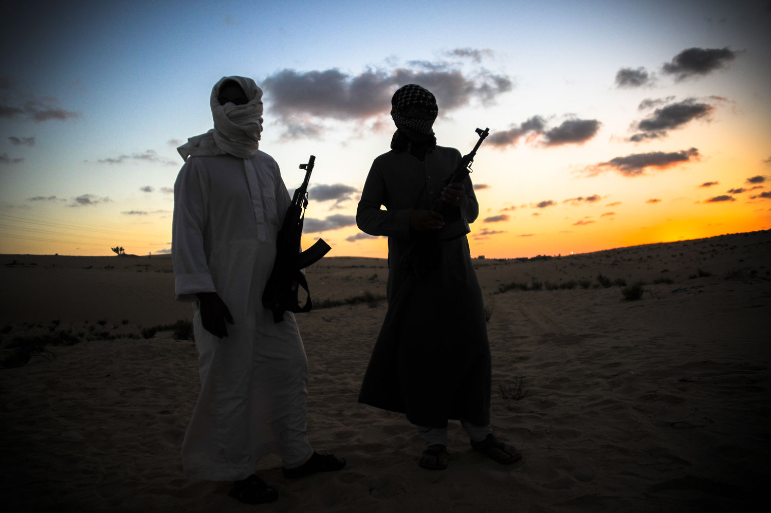 Militants in Sinai, September 2012. Photo: Getty images/Mosa'ab Elshamy
