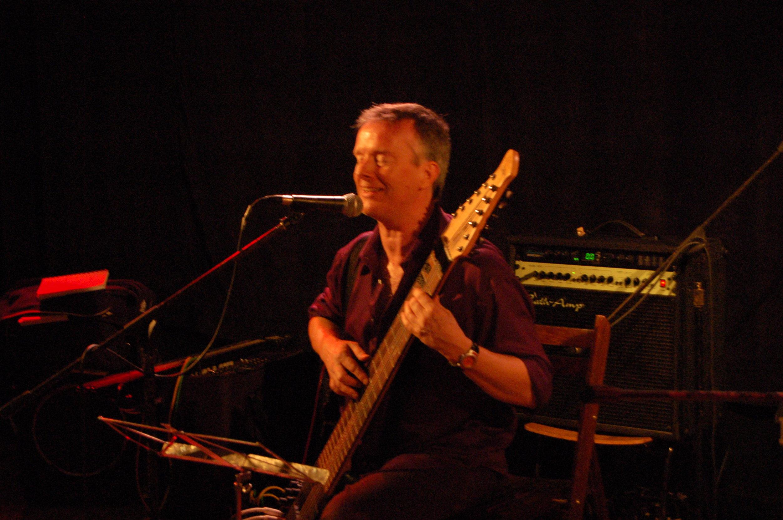 Performing in Brussels, Belgium 2006