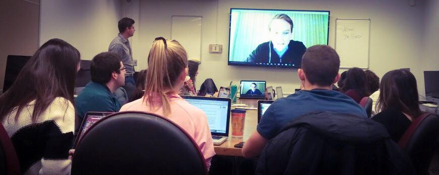 SourceFunding.org Founder working with students remotely.jpg