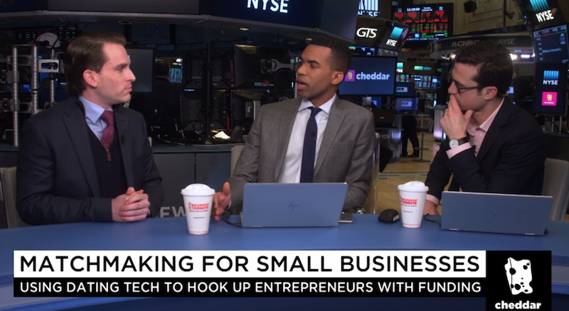 SourceFunding.org Founder W. Michael Short FinTech Amazon Small Business Loans NYSE Cheddar.png