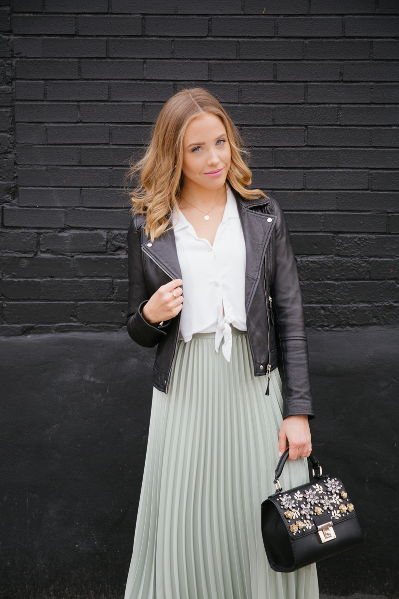 Black white and green outfit.jpg