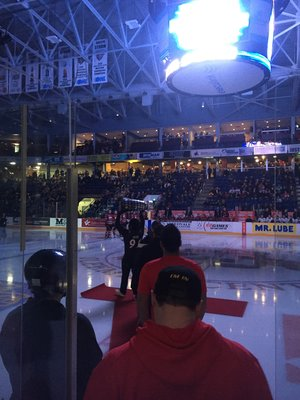Yates Cup Visit to Guelph Storm Game