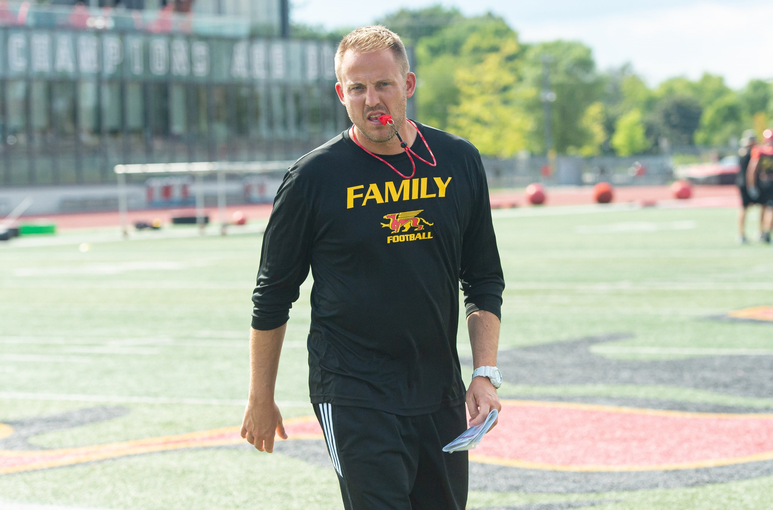 head coach, ryan sheahan