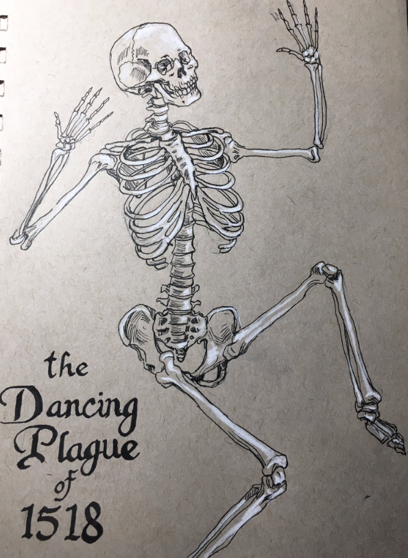 The Dancing Plague of 1518