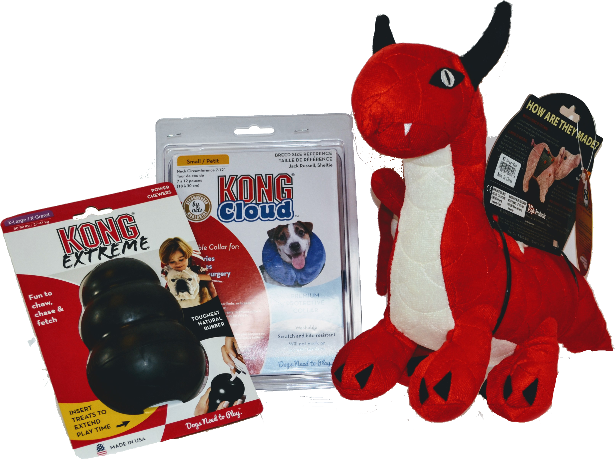 Bundle options that are available at the Pet Express Animal Hospital inside store.