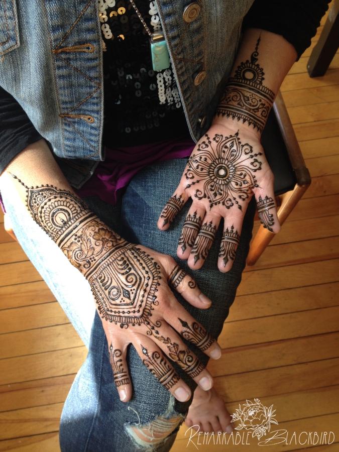 Hipster henna