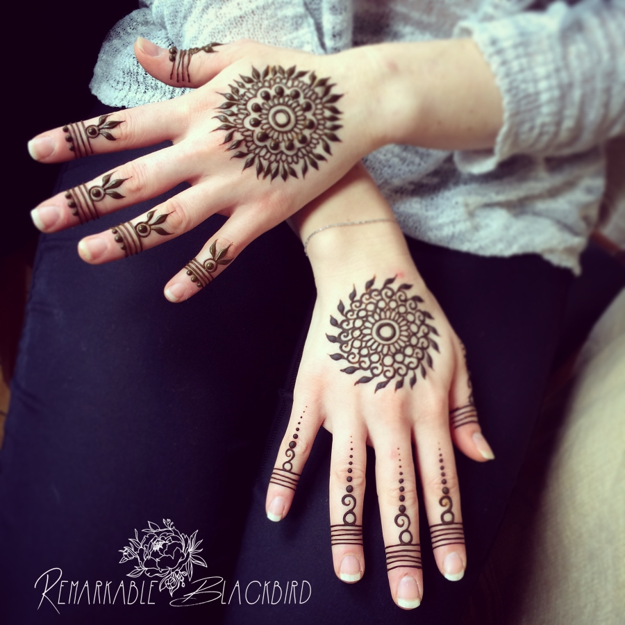 two small Mandala