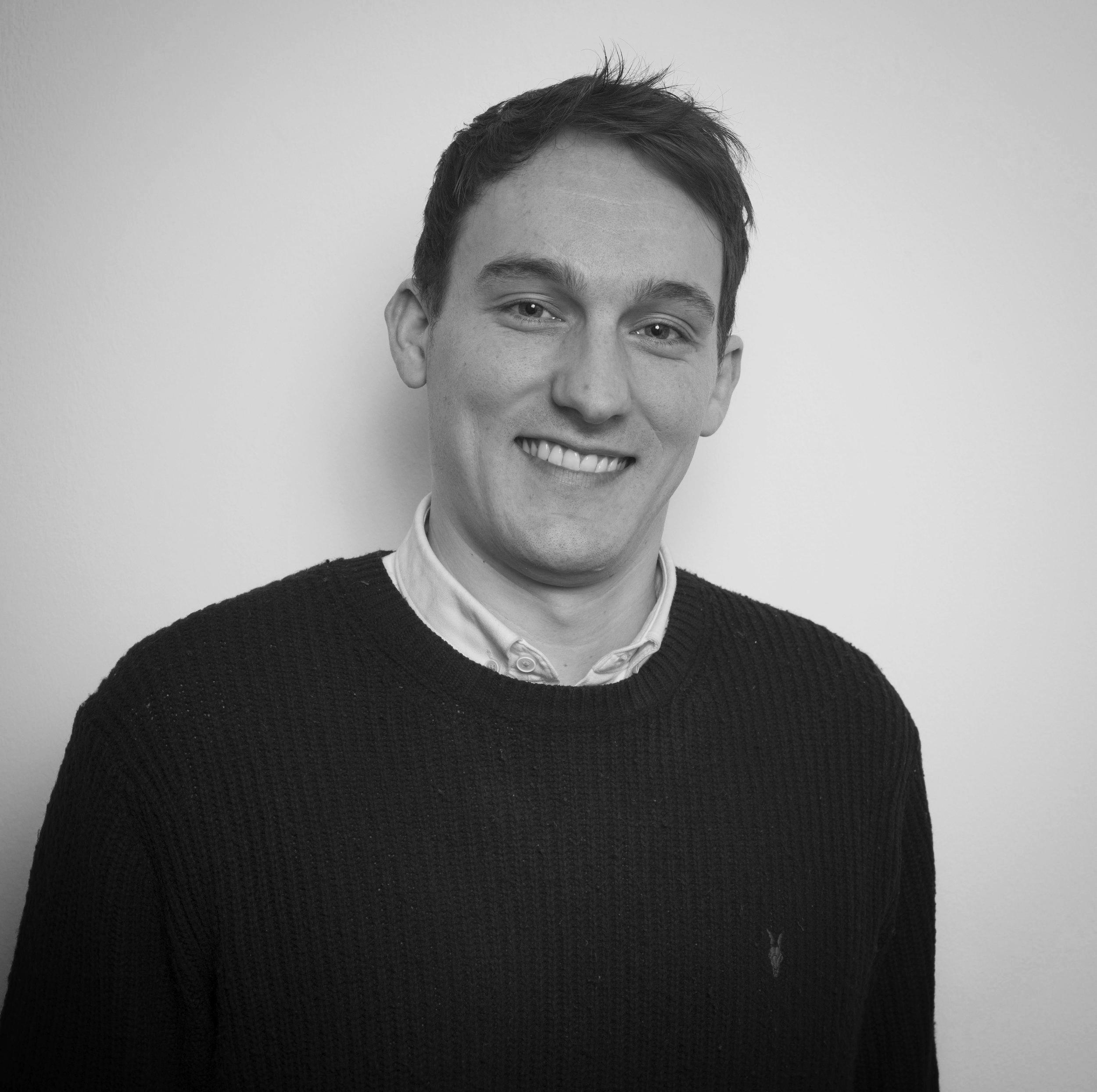 <b>Benedict Bunyard</b><br>Account Executive, Creative