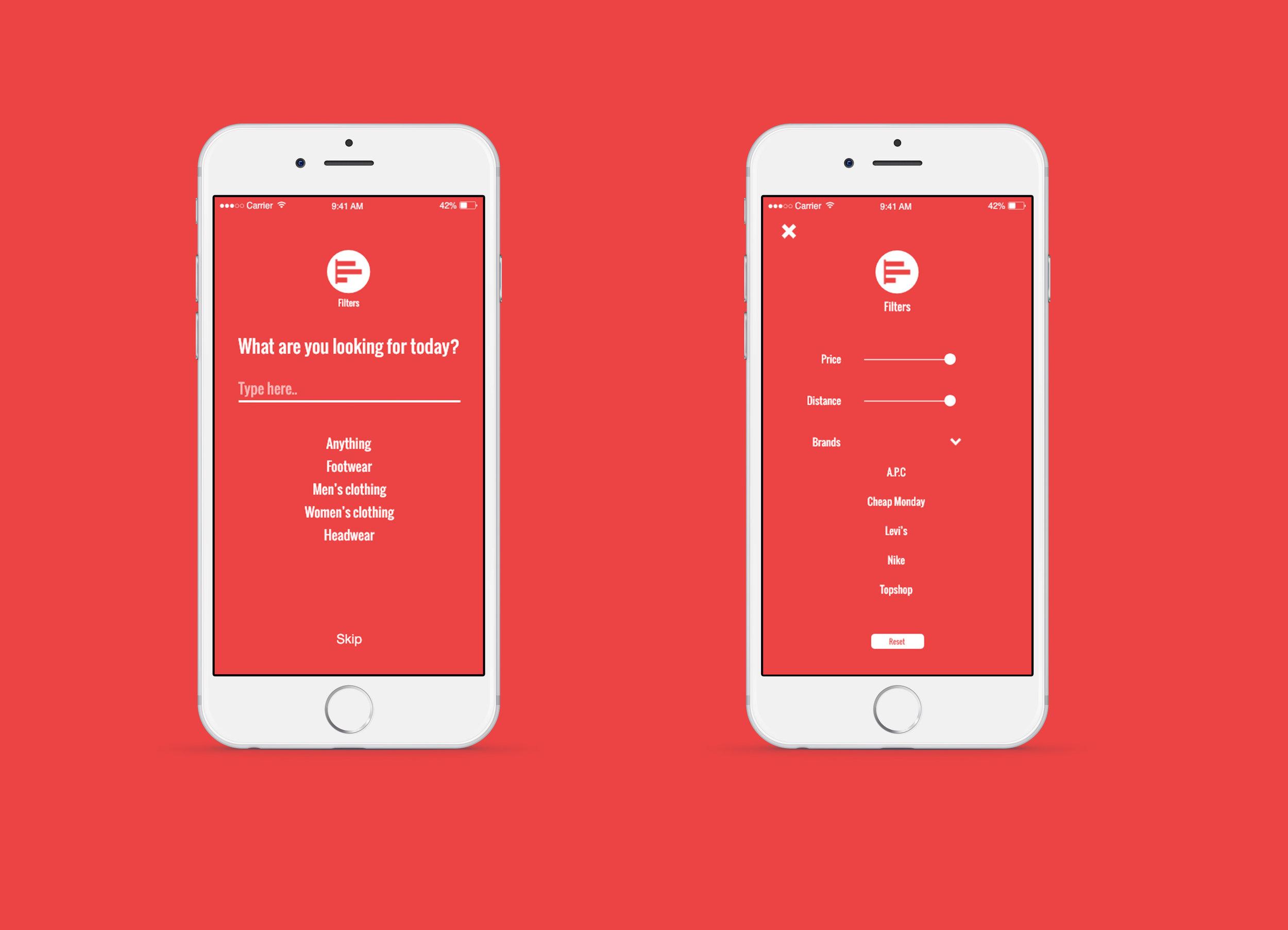 Atreom - Mobile UI