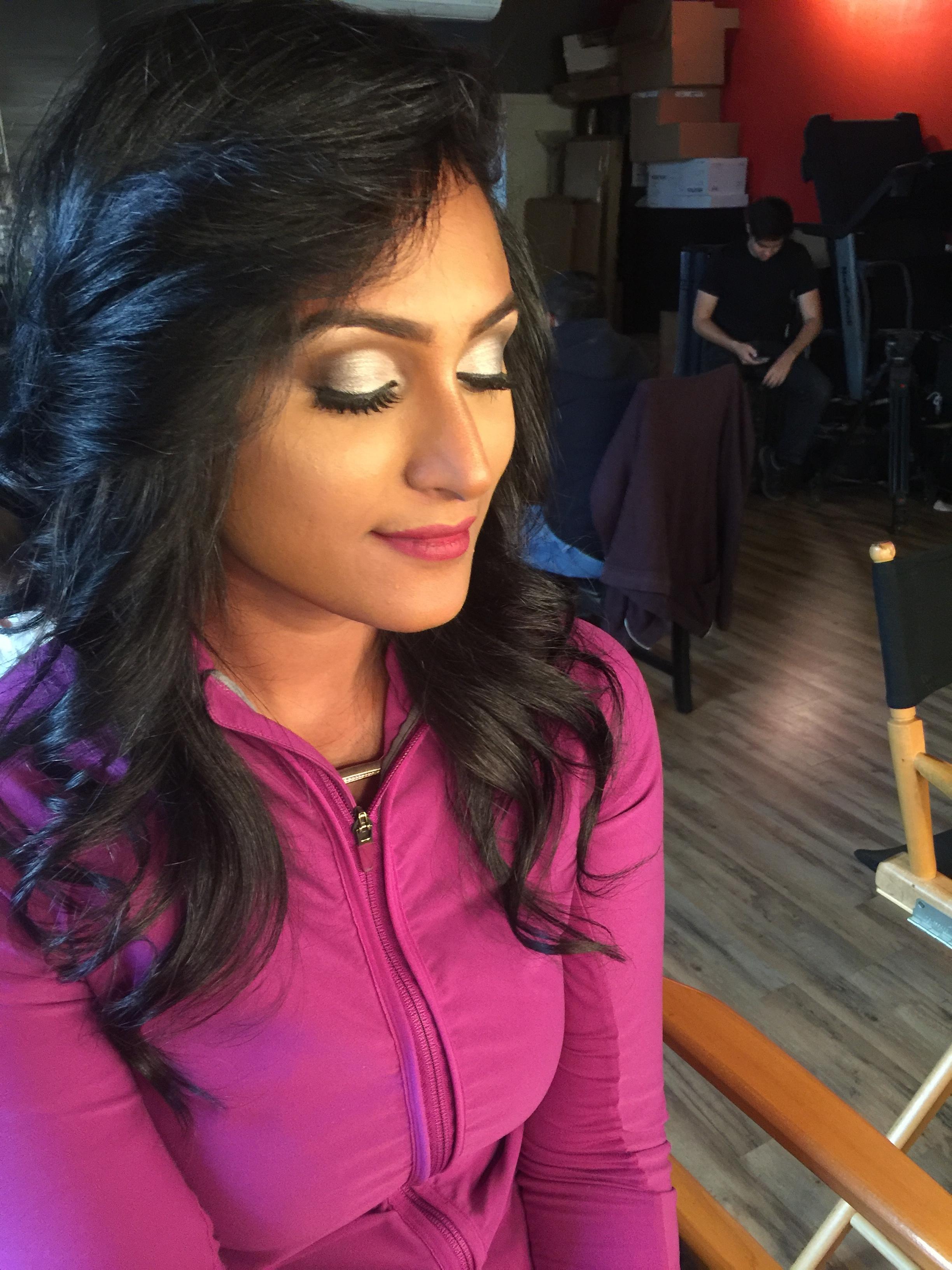 Makeup look by Brandi Mallory