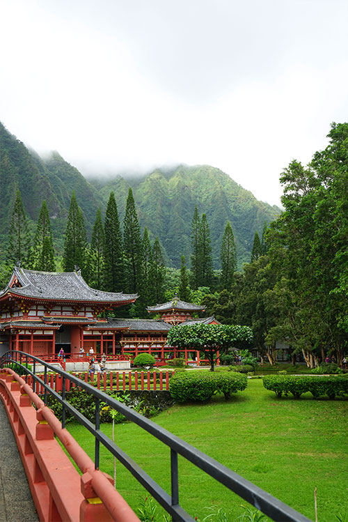 valley of temples | oahu