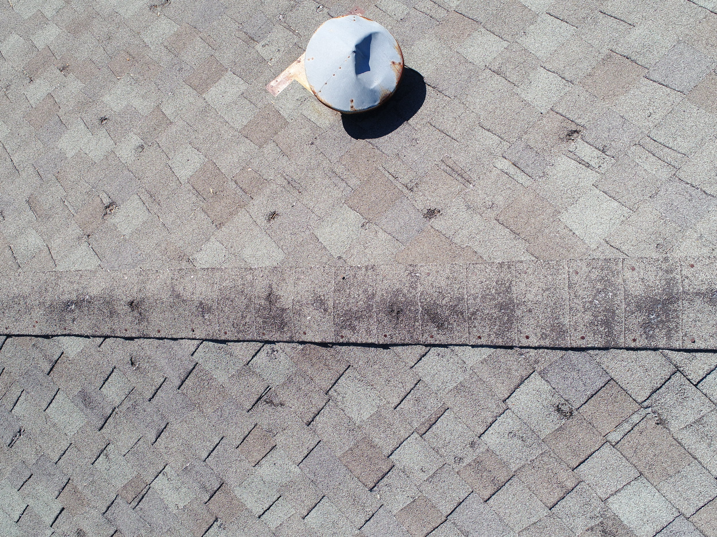 hail damage inspection with drone