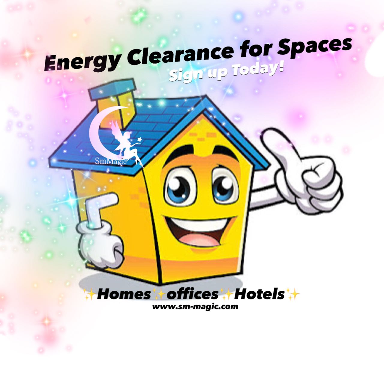 ENERGY CLEARANCE FOR SPACES Energy exchange - Rs. 1000/- Click the image to sign up.