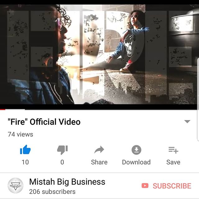 "🔥🔥🔥 Fire 🔥🔥🔥 Official Video ▪▪▪ Song: ""Fire"" Artist: @Mistah Engineer: @KrsHoyt Videographer: @KrsHoyt  Watch On YouTube: https://youtu.be/CMi4VqEBtn8  LINK ALSO IN BIO!!!!! ▪▪▪ #Mistah #BigBusiness #Rap #HipHop #Trap #EDM #Pop #Rock #Music #Musician #Urban #Culture #Apparel #Style #Fashion #Model #Streetfashion #StreetWear #HypeBeast #Graffiti #graffitiart #Artist #Art #Rapper #Emcee #DJ #Live #Laugh #Love #Smile"
