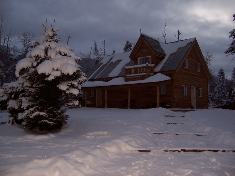 Winter at our house