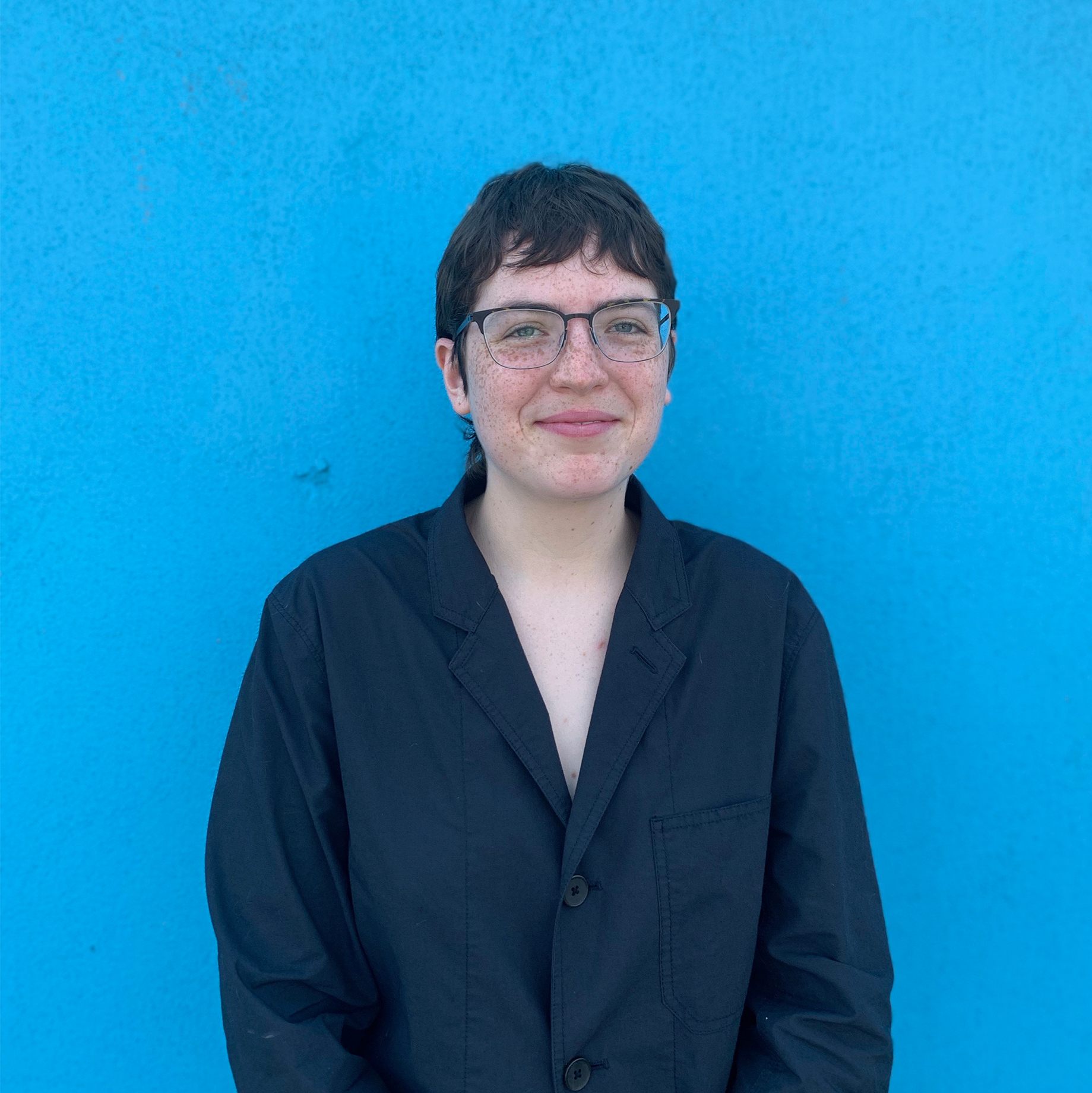 SOPHIE EPSTEIN - Designer  Sophie joined Square Design in 2019 and holds a BA from NYU's Gallatin School. Sophie enjoys designing edible sculptural objects and drawing 3-D models that are impossible to build in reality.