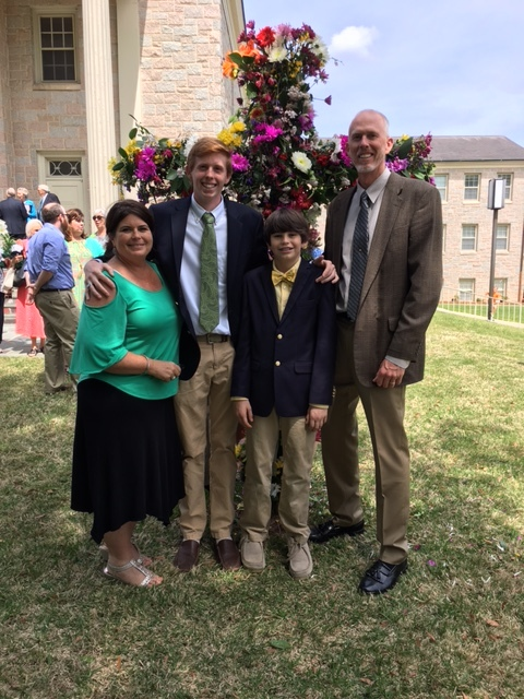 Moody, Eric & Jeannie. Noah and Sam