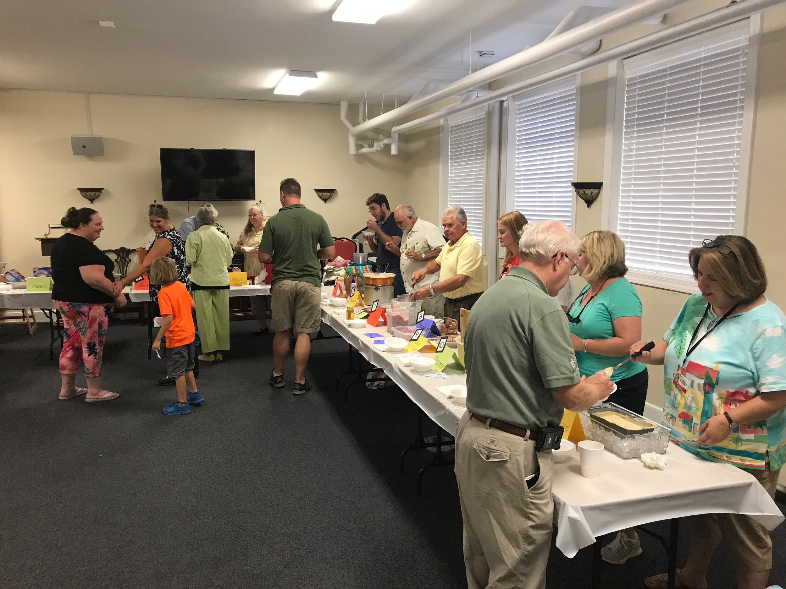 Centennial Associate Reformed Presbyterian Church - Ice Cream Social