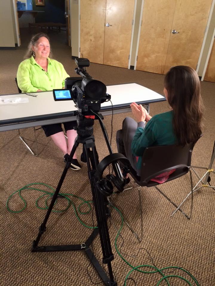 DeLanna Studi interviews Barbara Duncan for the project