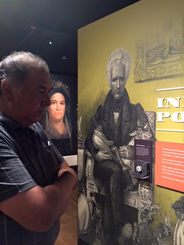 Thomas Studie at the  Andrew Jackson's Hermitage