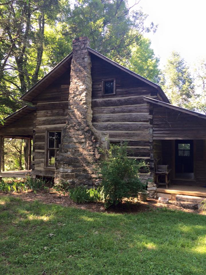 Research included a tour of the  Hair Conrad Cabin ,one of the newest certified sites on the Trail of Tears National Historic Trail.