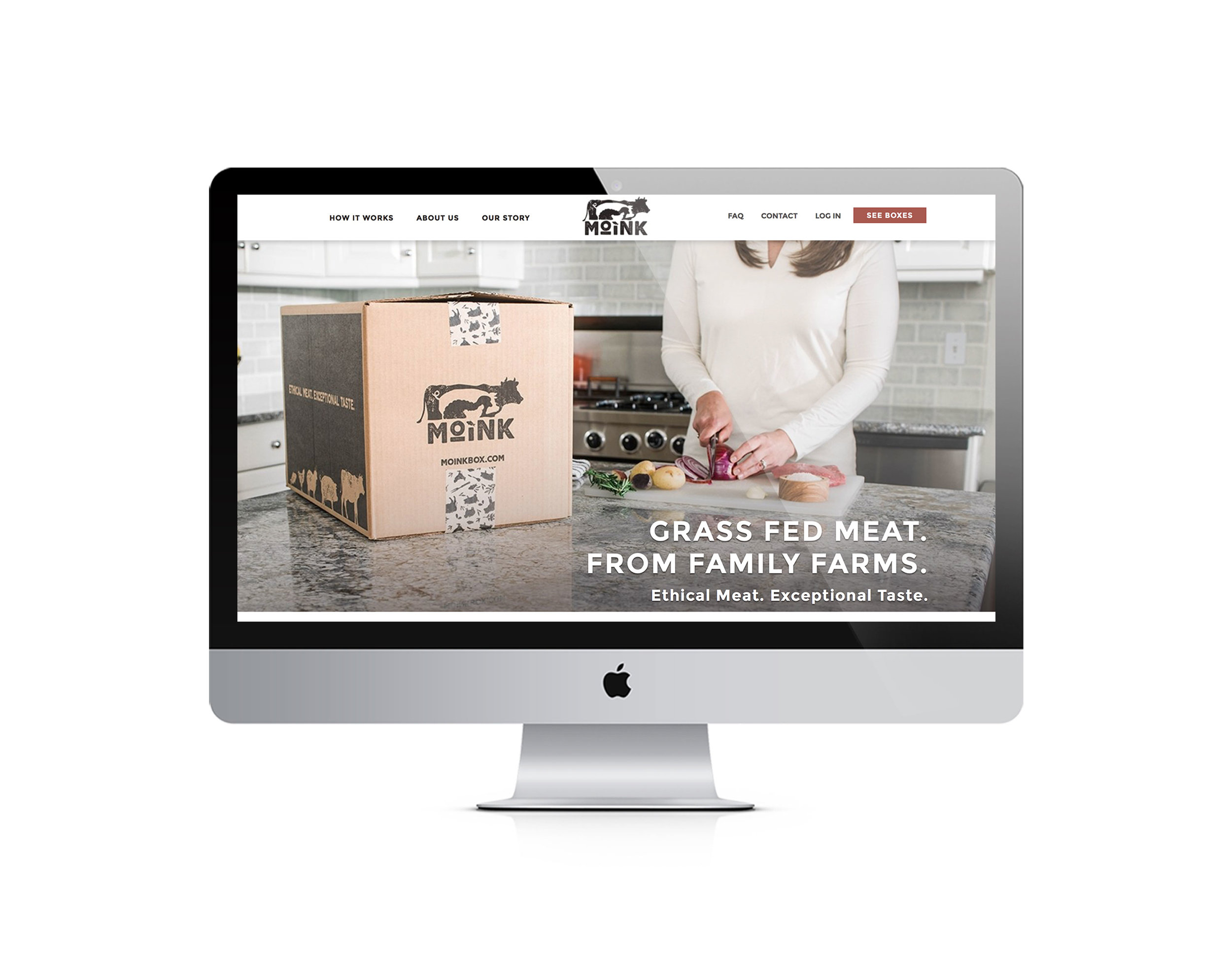 Moink Meat Delivery Service   Well Refined Startup Marketing Agency