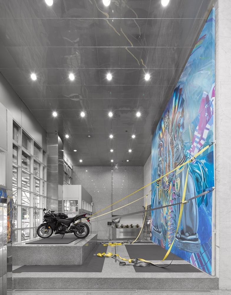 "Caitlin Cherry, ""Arctic Sovereignty"" through Art-in-Buildings, 125 Maiden Lane (2018)"