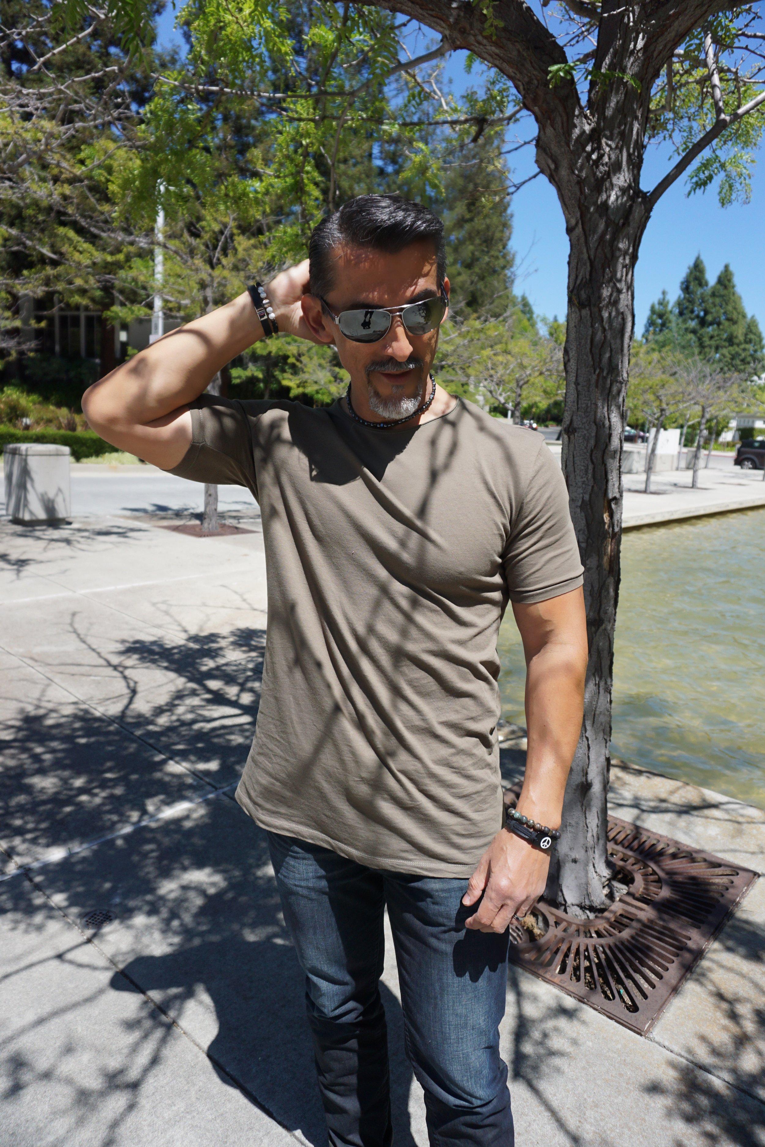 Zara Man Extended T-shirt