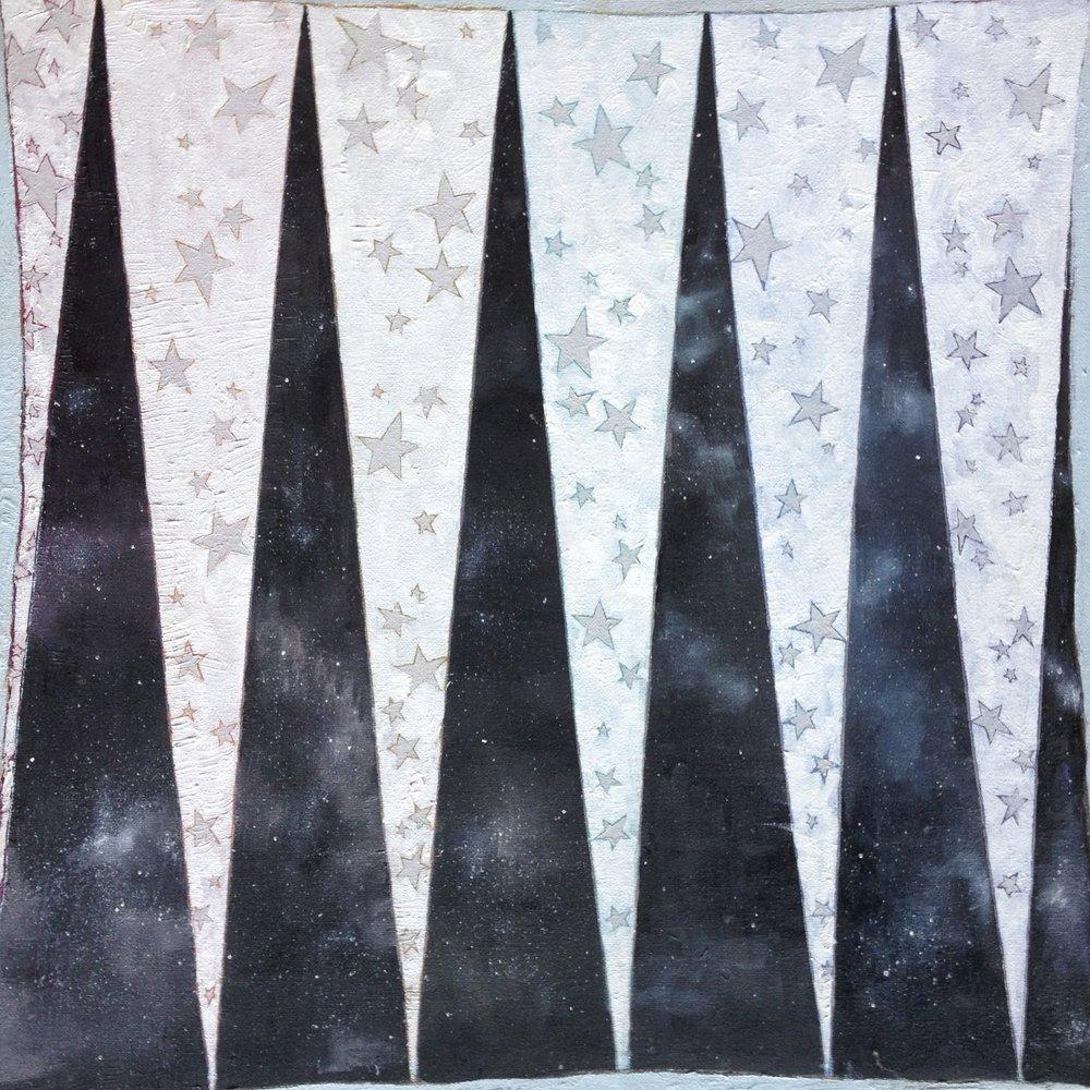 Star/Sign.  17in x 17in. Brianna Bass, 2011.