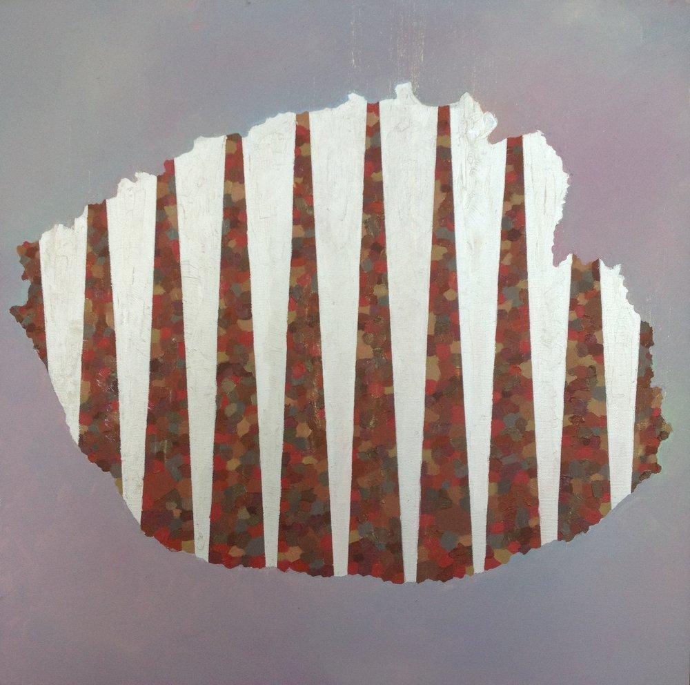 Land.  20in x 20in. Brianna Bass, 2011.