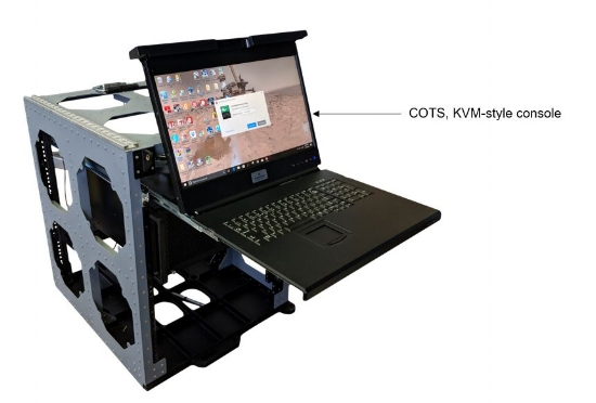For light-duty or temporary applications, many commercially available pullout keyboard/monitor combinations work well.