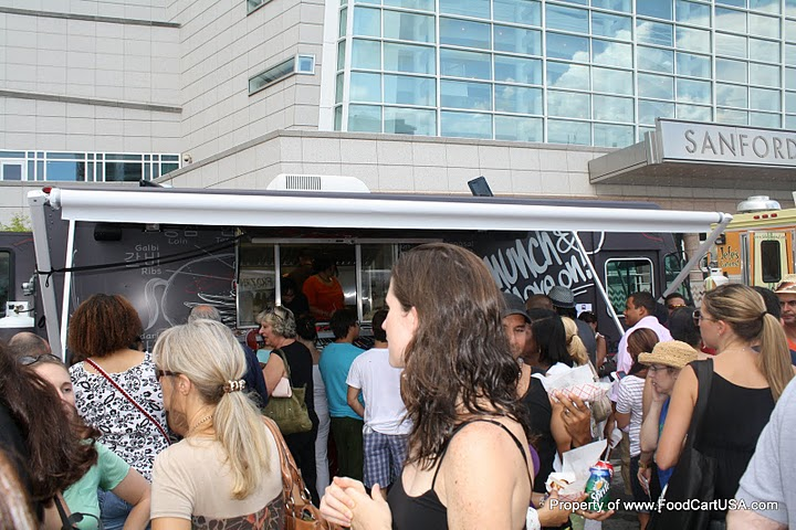 Food truck event