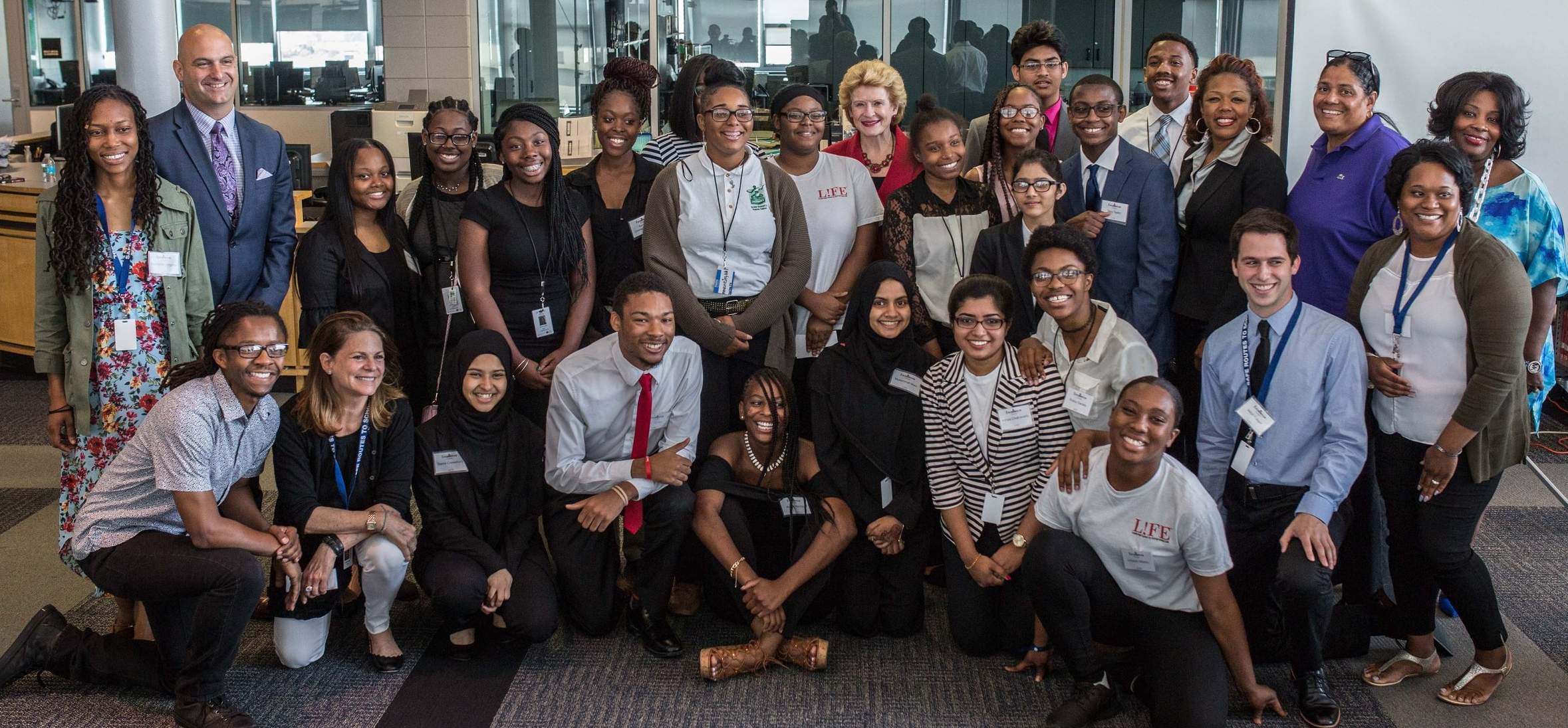 Excellence Corps 2018 with US Senator Debbie Stabenow