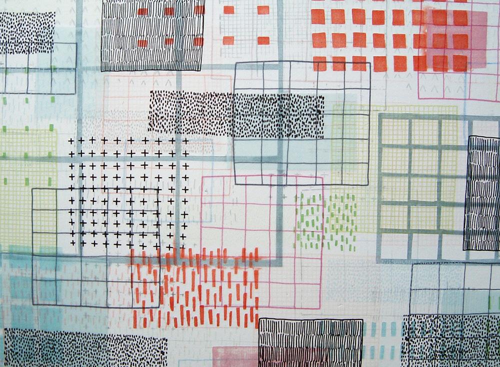 Large multi-fired tile, 2003.