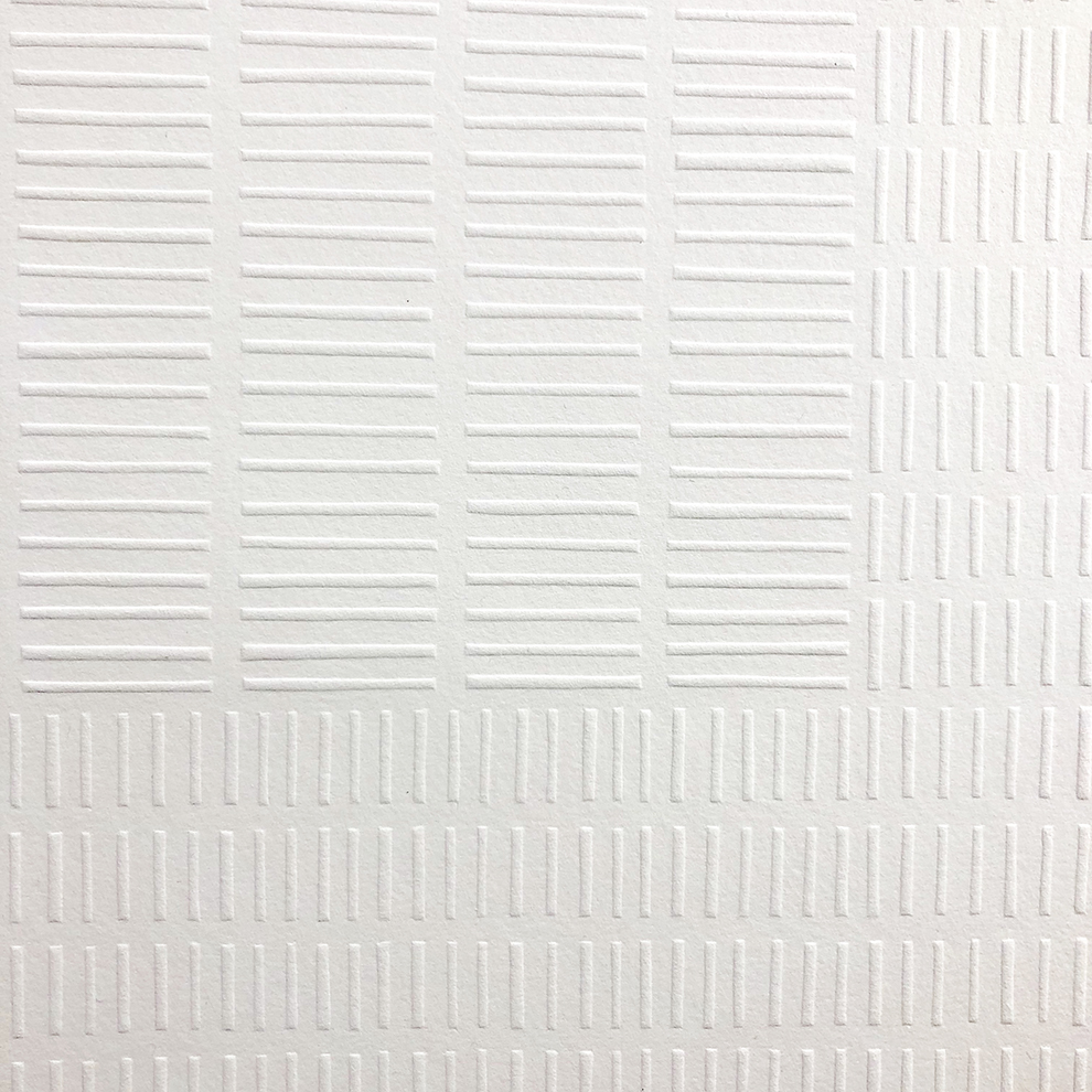 Flow (detail)   Relief embossed print. Edition of 5, 50 x 50cm, 2019. POA.