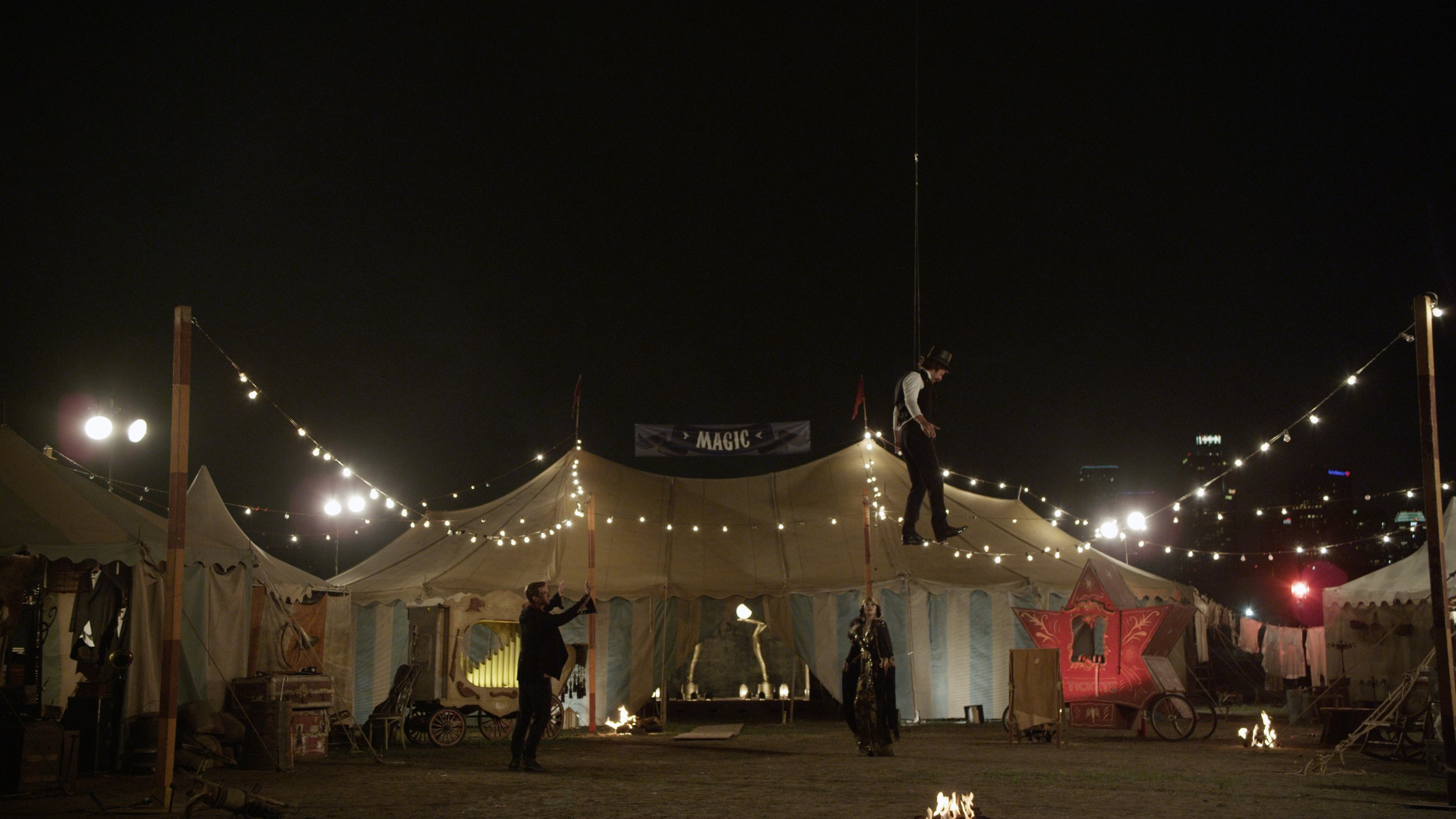 Coldplay's Chris Martin went to our director Jonas Åkerlund to direct the music video for their song Magic. Jonas sent me some reference and the band's song as a springboard to start feeling out where we would take the visuals for the film.