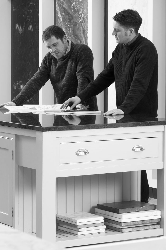 COMMITMENT TO EXCELLENCE - -Ruairi and Daniel Miller are the team behind Miller Brothers Stone. Having forged close working relationships with leading architects, interior design studios and many more, we can bring proven expertise in bespoke stone to your project.