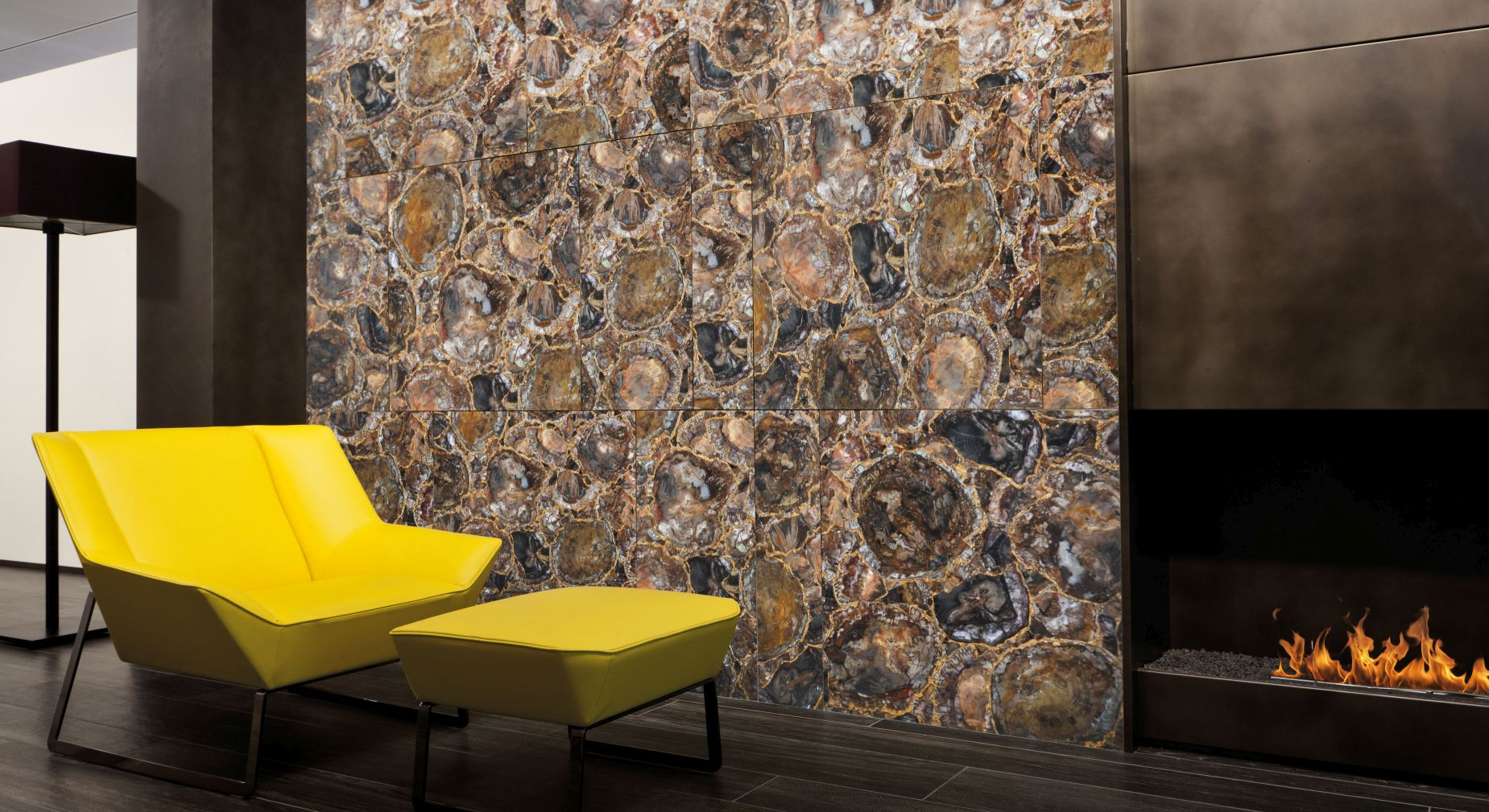 petrified wood with gold decorative wall.jpg