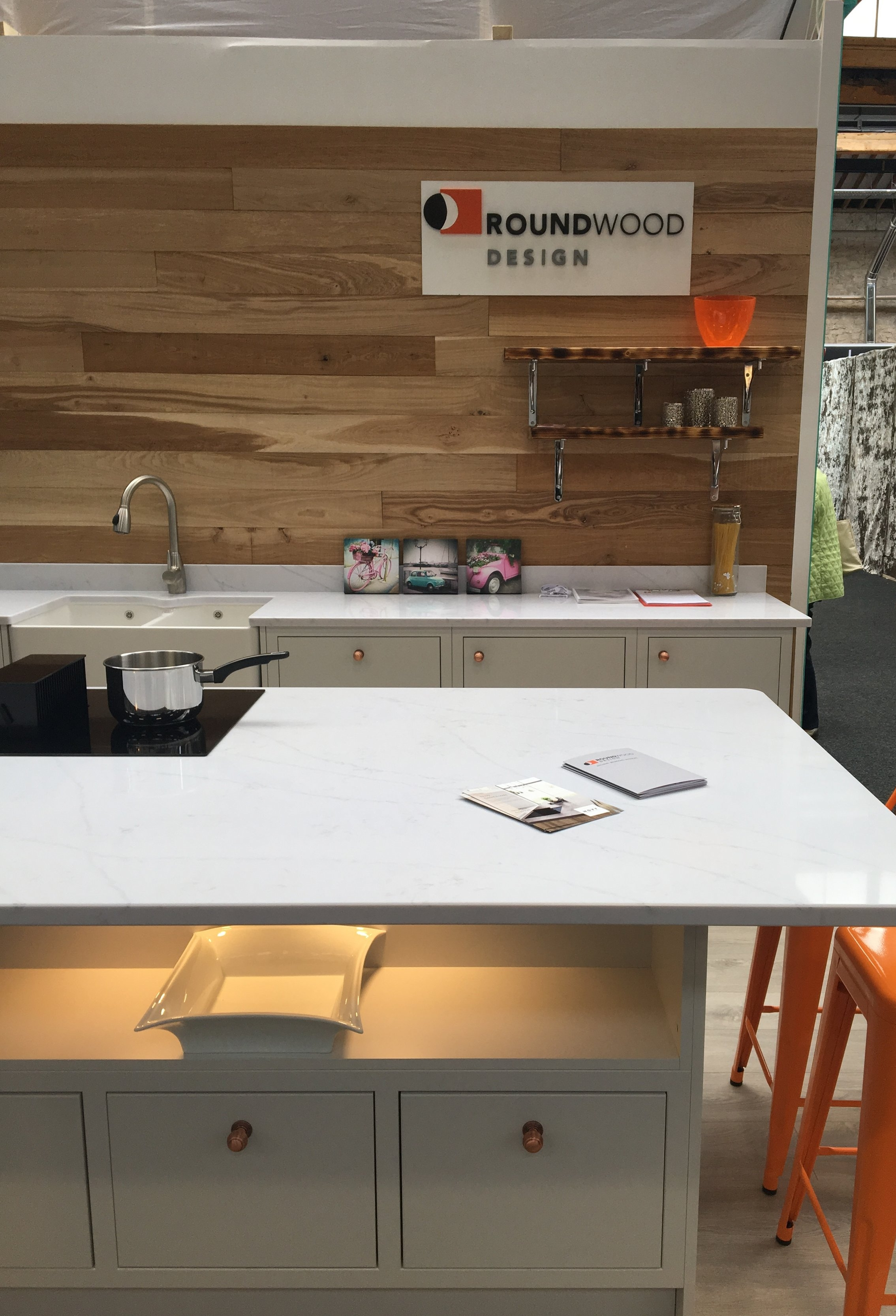 Roundwood Design- Statuario Silestone