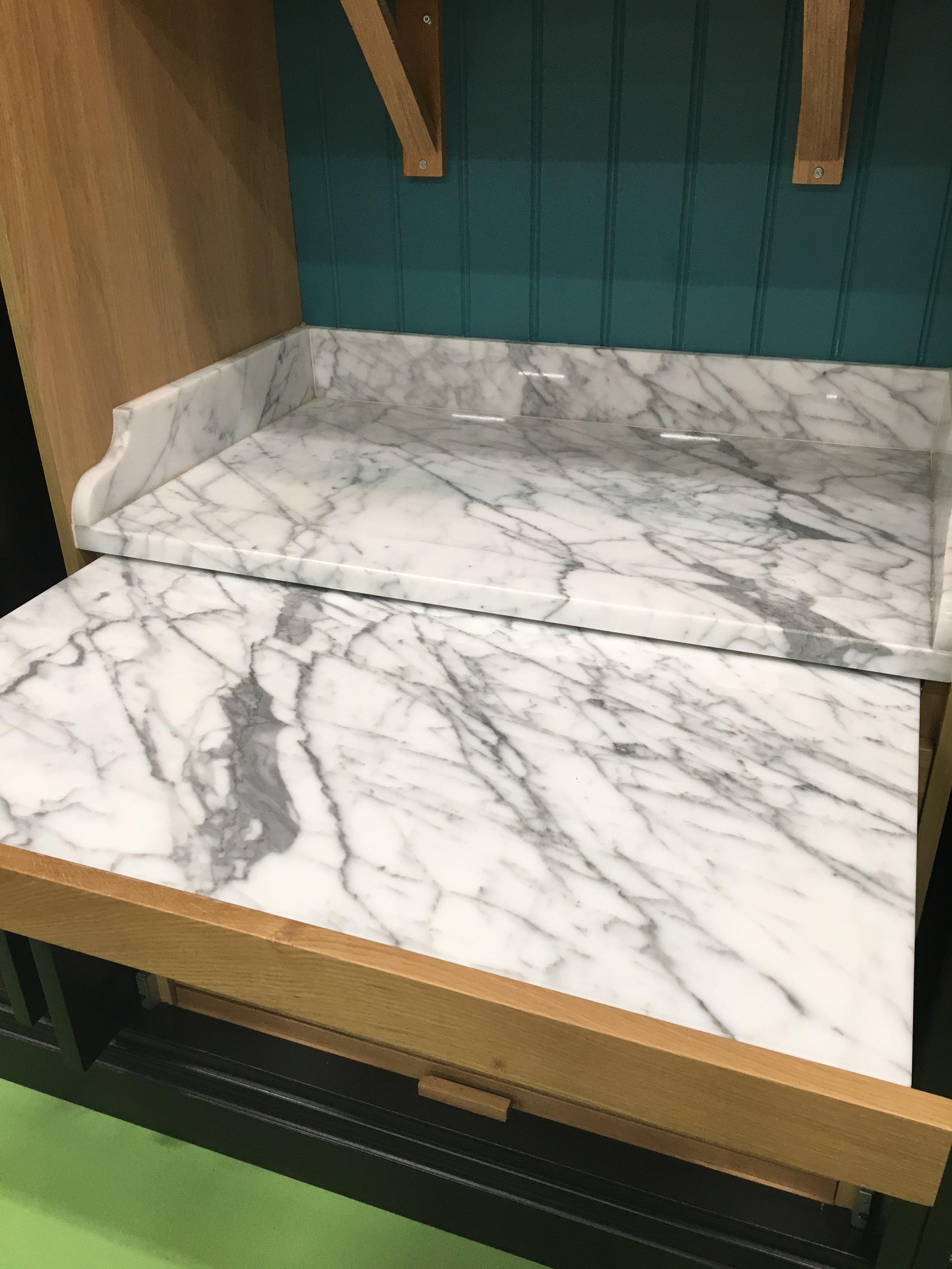 Cillían Johnston- Calacatta Marble