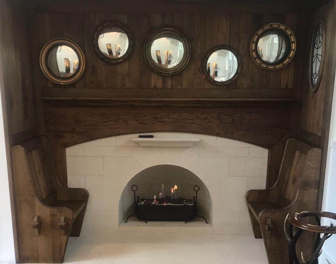 Bespoke Fireplace - Live Project July 2017