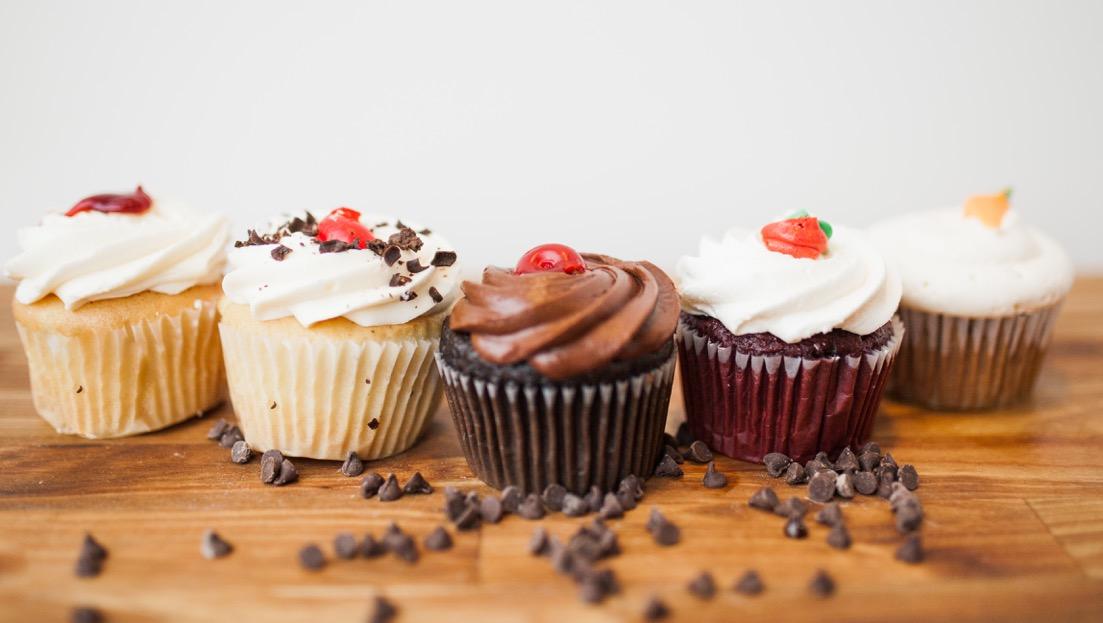 Gourmet Filled Cupcakes