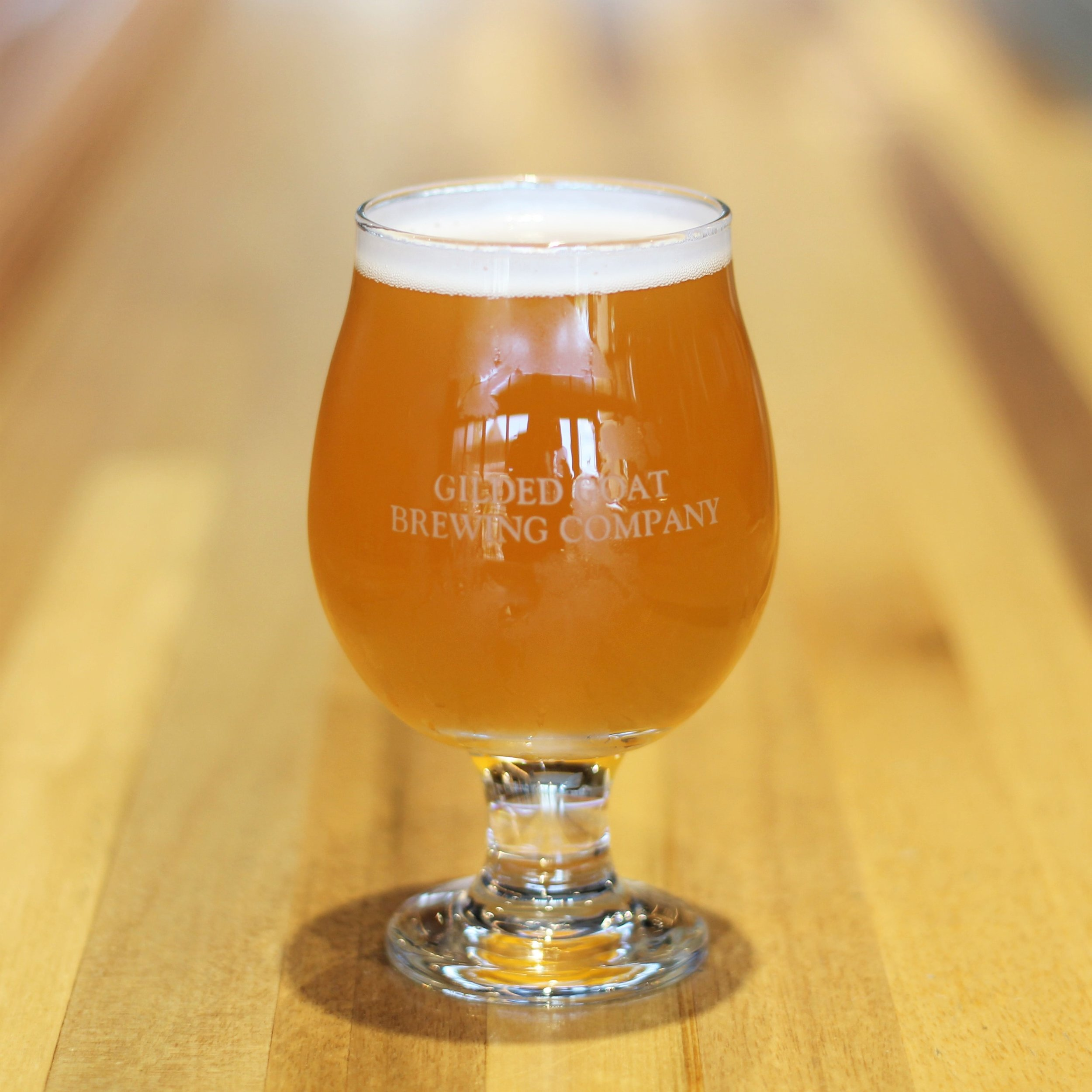 Gilded Grenade Collaboration Pale Ale with Hop Grenade Brewed at Gilded Goat Brewing Company Fort Collins Colorado Craft Beer Taproom